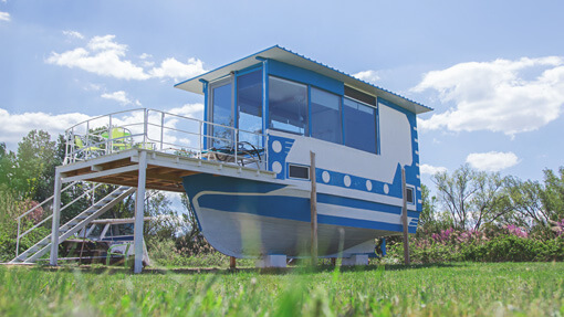 Holiday house: Boat house | Alkyóna Beach