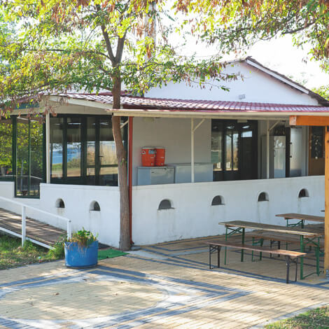 Holiday house: Café house | Alkyóna Beach