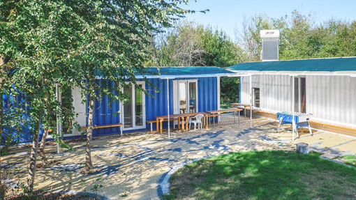 Holiday houses: Container houses | Alkyóna Beach